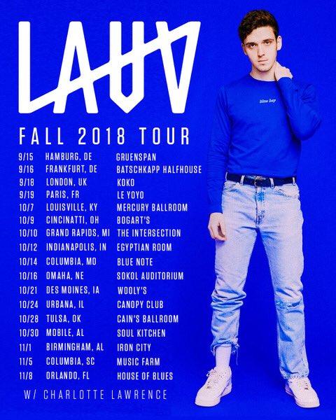 Lauv Tour